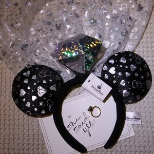 Disney Minnie Ears- Bride / Engaged